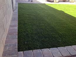 fake grass live oak california garden