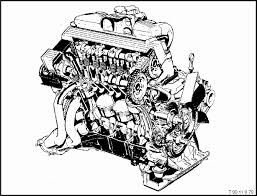 m42 engine technical information e30 bmw 3 series partial cutaway view of engine