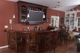 decorations fascinating small living space home bar designs