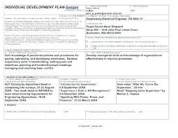 Individual Training Plan Template 8 Training Plan Examples Samples