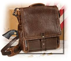 american bison leather vertical briefcase