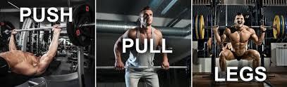 advanced push pull legs split routine