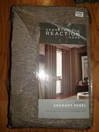 kenneth cole reaction home bowerytexture 108 lined grommet window curtain