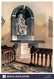 francis bacon english philosopher stock photos francis bacon monument to francis bacon in st michael s church near st albans hertfordshire c1850
