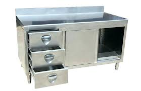 commercial kitchen cabinets used kitchen cabinets regarding stainless steel commercial kitchen cabinets intended for your