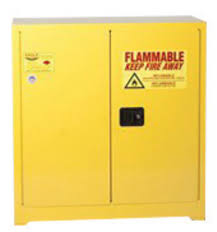 18 Storage Cabinet Airgas E421932 Eagle 30 Gallon Yellow 18 Gauge Steel Safety