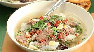 Китайские супы Острый хайнаньский суп из баранины с лапшой