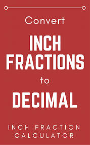 Fraction To Decimal Conversion Chart Printable Inch To Decimal Conversion Chart Bedowntowndaytona Com