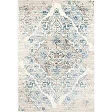 rugs vintage antique designed cream beige tones area rug x colored light blue and