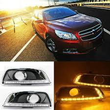 2013 Chevy Malibu Daytime Running Lights Amazon Com Motorfansclub Led Daytime Running Fog Lights Drl