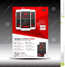 Flyer Design App Mobile Apps Flyer Template Business Brochure Flyer Design