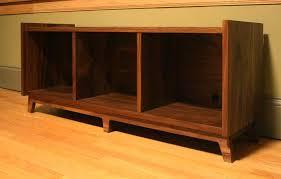Danish Vinyl Record Storage Furniture