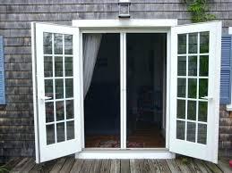 hinged patio door with screen. Swinging Patio Doors With Screens Double Hinged Door Screen Picture  Inspirations