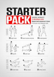 starter pack workout