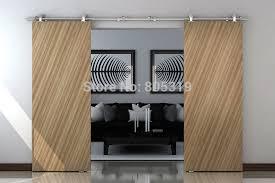 interior sliding door hardware track set saudireiki