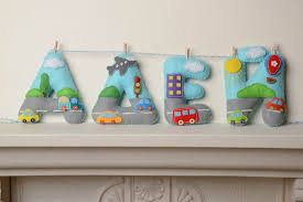 soft letters handmade decorative wall hanging colorful soft letters for child s room madeheart com