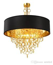 modern chandeliers with black drum shade pendant light gold rings drops in round ceiling light fixture llfa semi flush ceiling lights contemporary ceiling