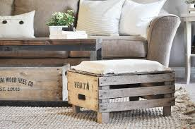 diy apple crate ottoman