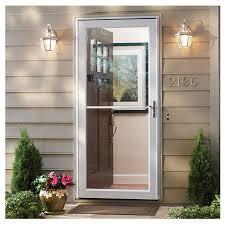 3000 Series Self Storing Storm Door  EMCO Storm Doors