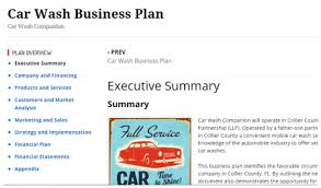 car wash business plan pdf car detailing business plan