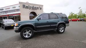 1996 Toyota 4Runner Limited, Green STK#T0038135 Rairdon's Dodge ...