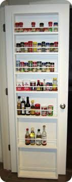 Clever Storage For Small Kitchens 17 Best Ideas About Door Mounted Spice Rack On Pinterest Door