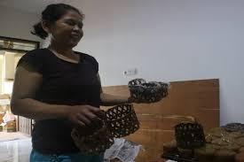 Tips menggoreng kue keranjang agar hasilnya renyah maksimal. Rahasia Warga Tionghoa Semarang Pertahankan Resep Kue Keranjang Warisan Leluhur