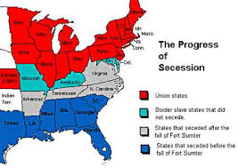 Jefferson Davis Vs Abraham Lincoln Chart The South Secedes Ushistory Org
