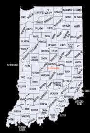Indiana County Time Zones