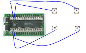 i pac help wiring two sets of player buttons on a one player this is the control panel im working on
