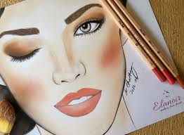 the face charts for makeup artists note workbook makeup book i makeup face charts by elanoir 0763164144477 amazon books