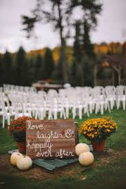 Outdoor Decorating For Fall Best 25 Fall Wedding Decorations Ideas On Pinterest Country