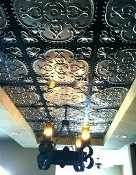 glue in ceiling tiles hour glue up ceiling tiles over popcorn