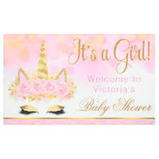 baby shower banners baby shower banners zazzle