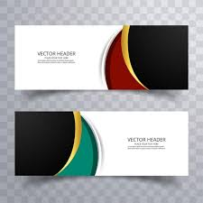 banner design template abstract web banner design background or header templates with wave