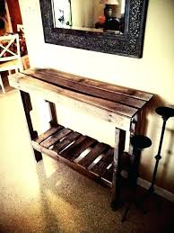 narrow entry table. Narrow Entry Table Tall Skinny Made From Pallet Wood I Like The