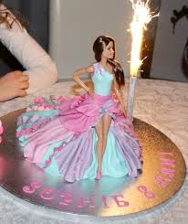 Barbie Cake Super Girl Barbi