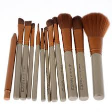 get ations 12pcs set professional cosmetic makeup brushes set beauty makeup powder brushes eyeline lip eye shadow