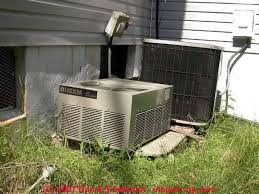 lennox ac compressor. clearance distances for air conditioner / heat pump compressor condenser units hvac spacing rules between system components and other building features or lennox ac n