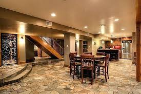basement remodel ideas. Rustic Basement Ideas With Columns High Ceiling Remodeling . Remodel