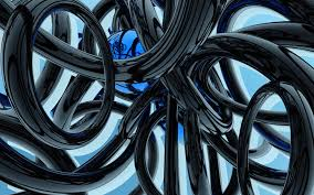 blue 3d abstract wallpapers. Brilliant Wallpapers Black And Blue Wallpaper Abstract 3D Wallpapers Inside 3d A