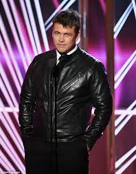 rocking a new look luke hemsworth ditched his suit in favour of a leather jacket