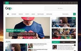 responsive blogger templates gaps responsive blogger template blogspot templates 2018
