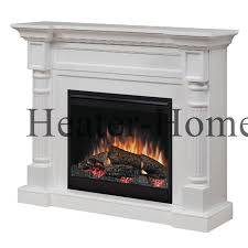dimplex dfp26 1109w winston electric fireplace white tilted left