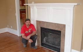 surrounds beam ideas photos fashioned diy gas mantels faux world repurposing surround plans decorating designs wood