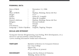 Sample Basic Resume Example For High School Graduate Resumes ...