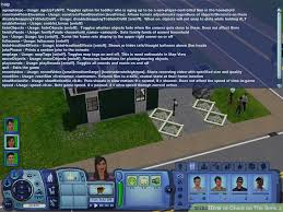 how to cheat on the sims 3 5 steps with pictures wikihow