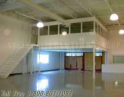 Warehouse mezzanine modular office Structural Environmentally Controlled Enclosed Modular Office With Stairs On Mezzanine Southwest Solutions Group Environmentally Controlled Enclosed Modular Offices For Industrial