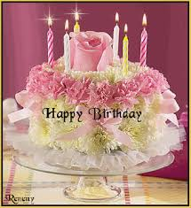 Name On Birthday Cake Gif Ayesha Birthday Cake Gif Happy