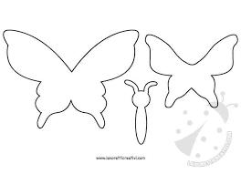Sagoma Farfalla Da Ritagliare Disegni Colorare Imagixs
